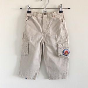 Sesame Street Khaki Cargo Pants Elmo 24m